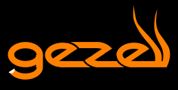 Gezell Logo - black rectangle